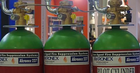 Системы газового пожаротушения на основе Fm 200