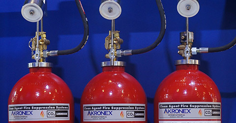 Carbon Dioxide (CO2) Fire Suppression Systems