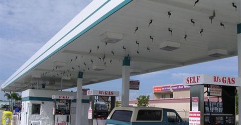 Petrol istasyonları ve endüstriyel tesislere özel söndürme sistemeleri