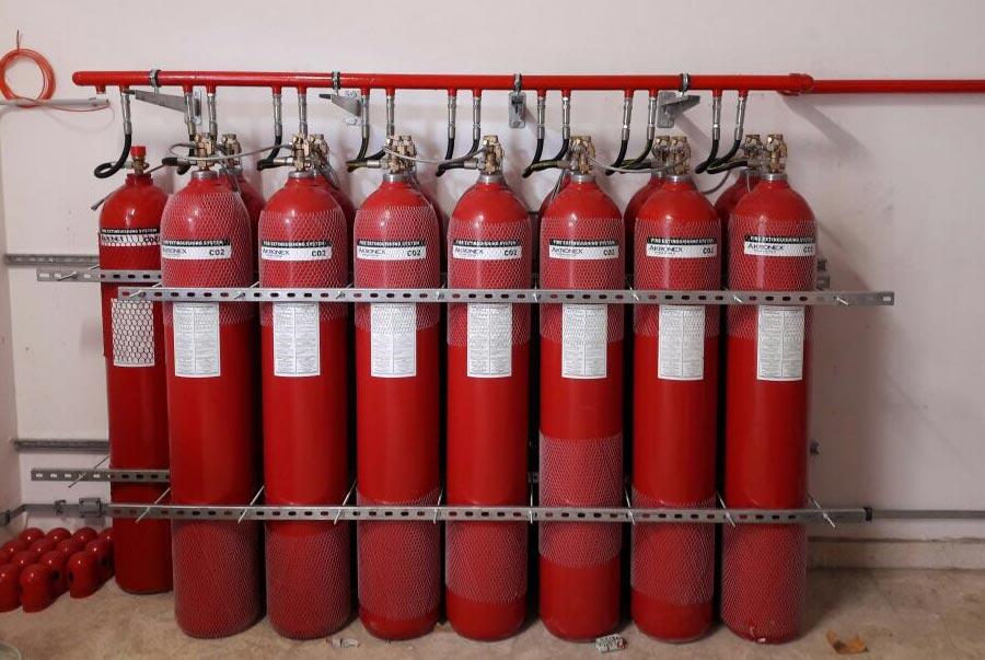 Karbondioksit (co2) Gazlı Söndürme Sistmeleri